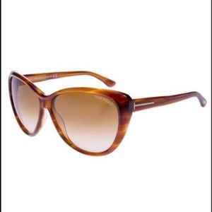 be43139b45622 ... Purple Brown Sunglasses New Tom Ford Malin TF 230 65F Havana Sunglasses  ...